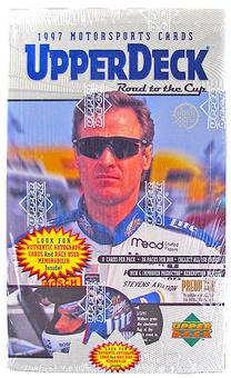 1997 Upper Deck Road To The Cup Racing Retail Box