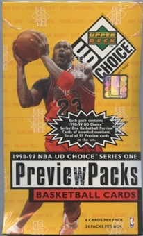 1998/99 Upper Deck Choice Preview Basketball Box