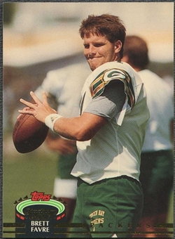 1992 Topps Stadium Club Football Brett Favre