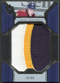 2004/05 Ultimate Collection Patches #UPDHB Dany Heatley /35