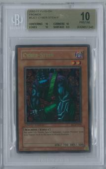 Yu-Gi-Oh Shonen Jump Championship Series Promos 2004 Cyber-Stein Ultra Rare BGS 10 PRISTINE (10, 10, 10, 9.5)