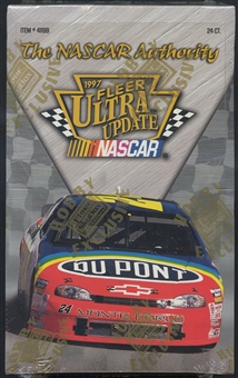 1997 Fleer Ultra Update Racing Hobby Box