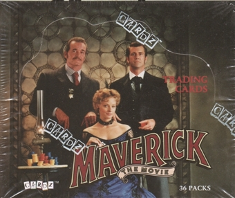 Maverick The Movie Hobby Box (1994 Cardz)