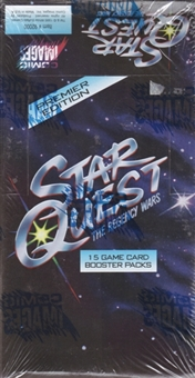 Star Quest The Regency Wars Booster Box (1995 Comic Images)