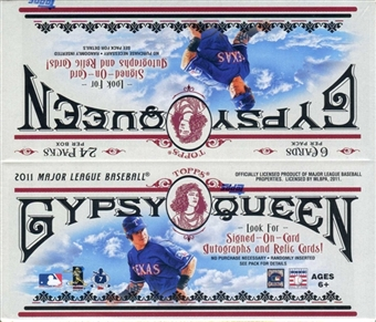 2011 Topps Gypsy Queen Baseball 24-Pack Box