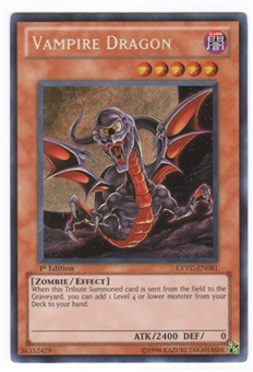Yu-Gi-Oh Extreme Victory Single Vampire Dragon Secret Rare