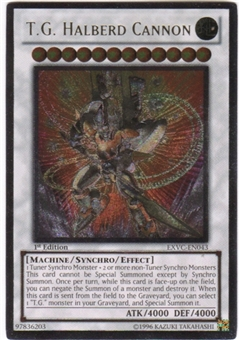 Yu-Gi-Oh Extreme Victory Single T.G. Halberd Cannon Ultimate Rare
