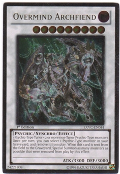 Yu-Gi-Oh Extreme Victory Single Overmind Archfiend Ultimate Rare