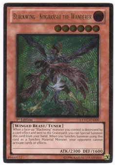 Yu-Gi-Oh Extreme Victory Single Blackwing - Kogarashi the Wanderer Ultimate