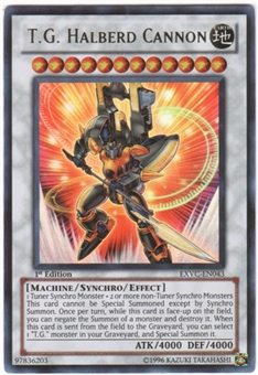 Yu-Gi-Oh Extreme Victory Single T.G. Halberd Cannon Ultra Rare