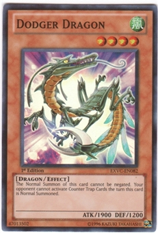 Yu-Gi-Oh Extreme Victory Single Dodger Dragon Super Rare