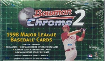 1998 Bowman Chrome Series 2 Baseball Hobby Box