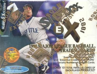1998 Fleer Skybox E-X 2001 Baseball Hobby Box