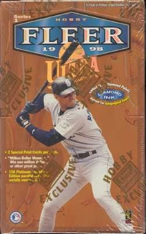 1998 Fleer Ultra Series 1 Baseball Hobby Box