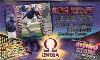 1998 Pacific Omega Baseball Hobby Box