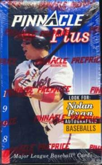 1998 Pinnacle Plus Baseball Hobby Box