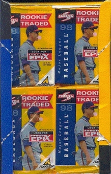 1998 Score Rookie & Traded Baseball Jumbo Box