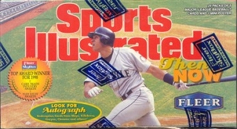 1998 Fleer Sports Illustrated Then & Now Baseball Hobby Box