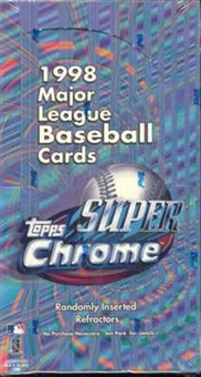 1998 Topps Super Chrome Baseball Box