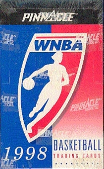 1998 Pinnacle WNBA Basketball Hobby Box