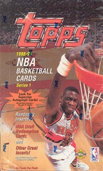1998/99 Topps Series 1 Basketball Jumbo Box