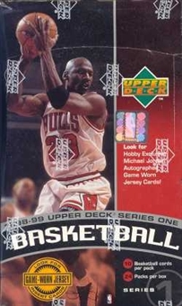 1998/99 Upper Deck Series 1 Basketball Hobby Box