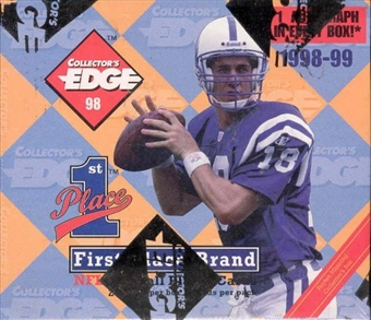 1998 Collector's Edge First Place Football Hobby Box