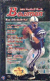 1998 Bowman Football Hobby Box
