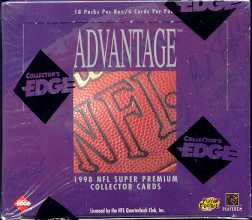 1998 Collector's Edge Advantage Football Hobby Box