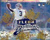 1998 Fleer Brilliants Football Hobby Box
