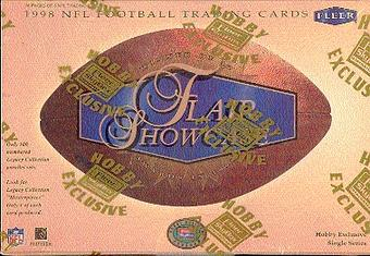 1998 Fleer Flair Showcase Football Hobby Box