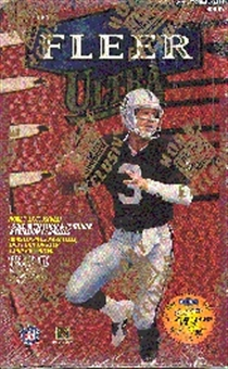 1998 Fleer Ultra Series 1 Football Hobby Box