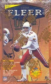 1998 Fleer Ultra Series 2 Football Hobby Box