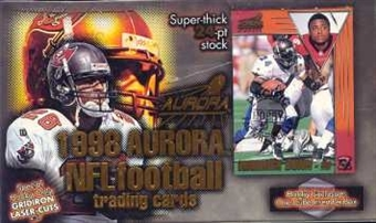 1998 Pacific Aurora Football Hobby Box