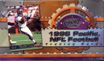 1998 Pacific Football Hobby Box