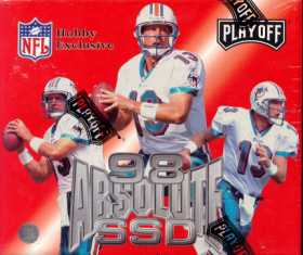 1998 Playoff Absolute SSD Football Hobby Box - Peyton Manning!