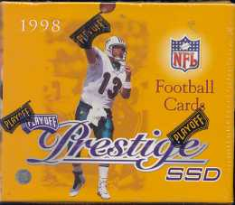 1998 Playoff Prestige SSD Football Hobby Box