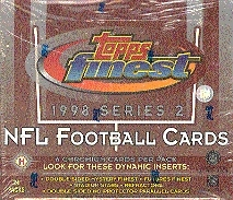 1998 Topps Finest Series 2 Football Hobby Box