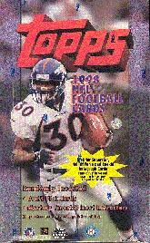 1998 Topps Football Hobby Box