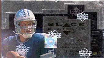 1998 Upper Deck Black Diamond Football Hobby Box