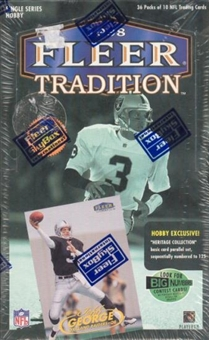 1998 Fleer Tradition Football Hobby Box