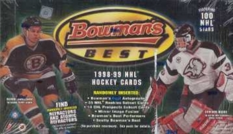 1998/99 Bowman's Best Hockey Hobby Box