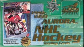1998/99 Pacific Aurora Hockey Hobby Box