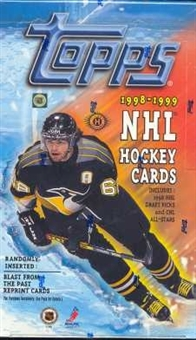 1998/99 Topps Hockey Hobby Box