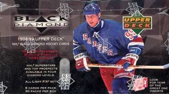 1998/99 Upper Deck Black Diamond Hockey Hobby Box