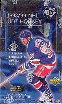 1998/99 Upper Deck UD3 Hockey Hobby Box