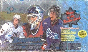 1998/99 Bowman Chrome CHL Prospects Hockey Hobby Box