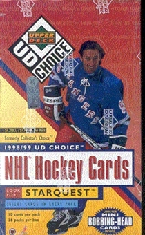 1998/99 Upper Deck Choice Hockey Hobby Box