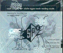 1998/99 Upper Deck SPx Finite Hockey Hobby Box