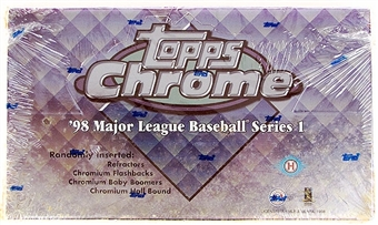 1998 Topps Chrome Series 1 Baseball Hobby Box